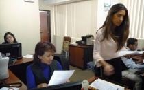 Imágenes de la visita de Vanessa Tello a la Autoridad del Tren Eléctrico - Noticias de ricardo cebrecos