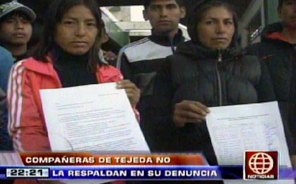 Compañeros de Gladys Tejeda respaldaron a entrenador coreano en denuncia por agresión