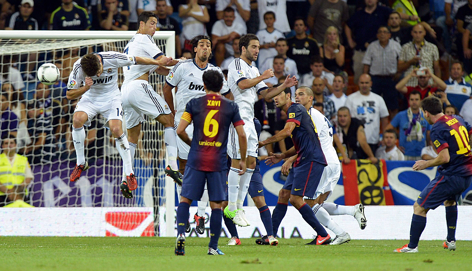 FOTOS: la victoria del Real Madrid ante el Barcelona por la Supercopa