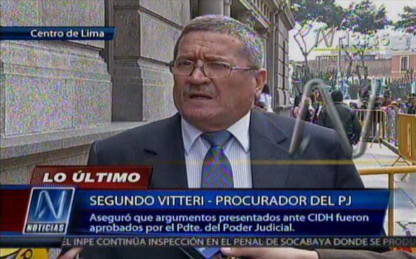 Ex procurador Vitery querellará a titular del Poder Judicial por expulsarlo