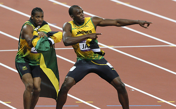 Bolt y Blake impusieron nuevos récords en competencia atlética en Suiza