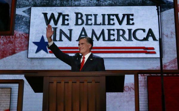 Mitt Romney aceptó la candidatura presidencial del Partido Republicano