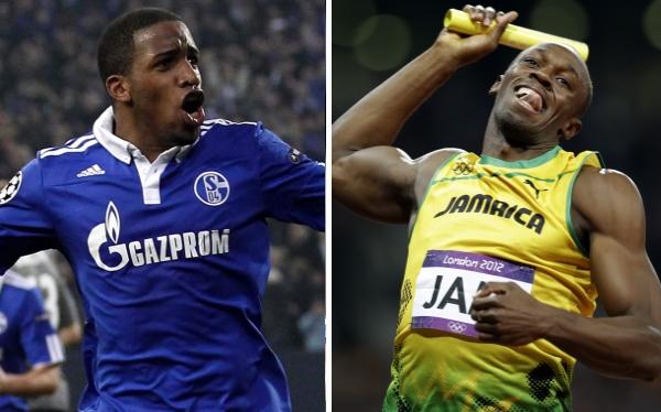 Farfán cree tener chance de vencer en carrera a Usain Bolt, pero con un balón en los pies