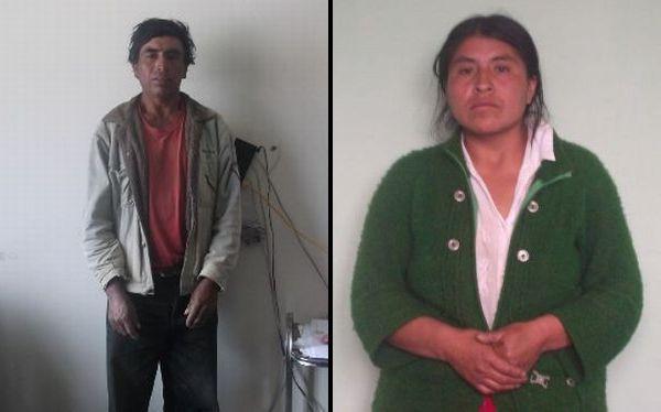 Presuntos senderistas fueron capturados en La Libertad