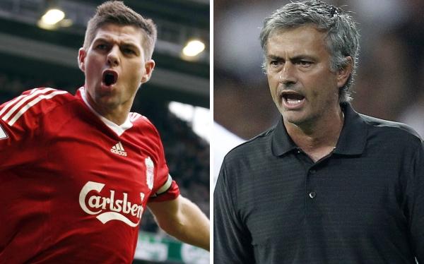 """Steven Gerrard: """"Mourinho me quiso en el Chelsea y Real Madrid"""""""