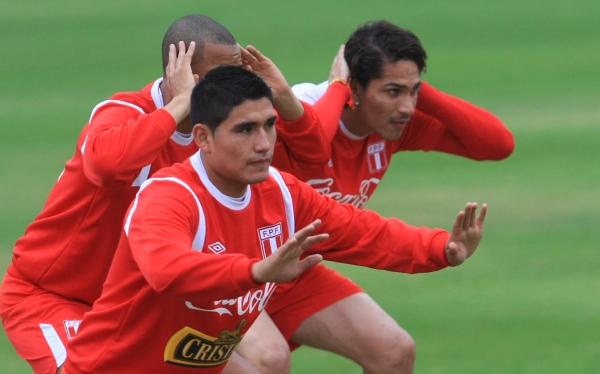 Selección peruana inicia hoy trabajos para el partido ante Venezuela