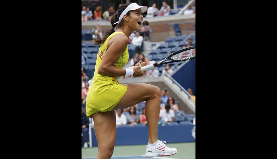 FOTOS: Ana Ivanovic renació en el US Open y ahora enfrentará a Serena Williams