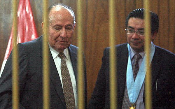 Defensa de Hermoza Ríos pidió que sea absuelto del Caso Chavín de Huántar