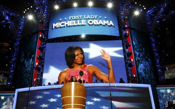 Obama es igual a ustedes, dijo Michelle Obama en Convención Demócrata