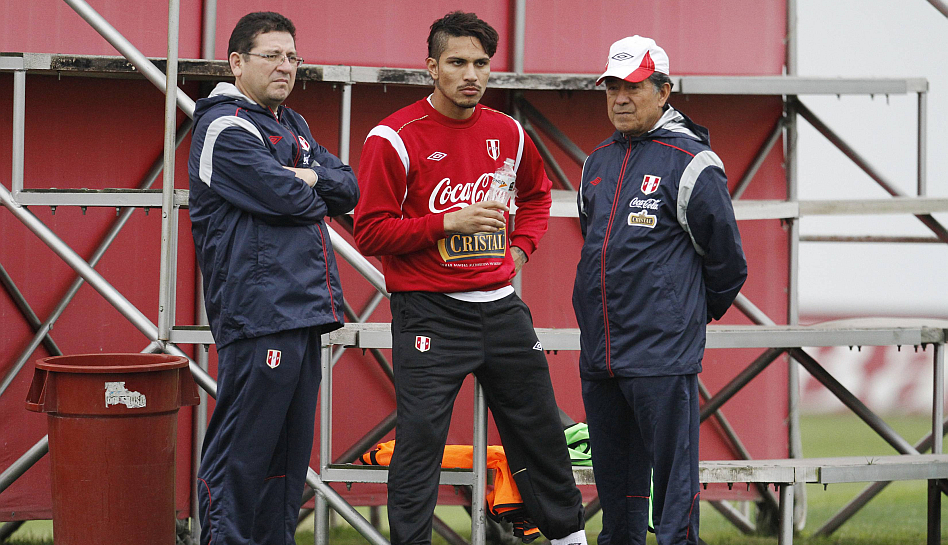 FOTOS: así fue el segundo día de entrenamientos de la selección peruana