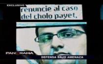 Abogado del 'Cholo Payet' recibe amenazas para que deje de defenderlo - Noticias de alejos dominguez