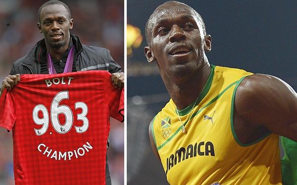 Usain Bolt jugaría amistoso con el Manchester United ante Real Madrid