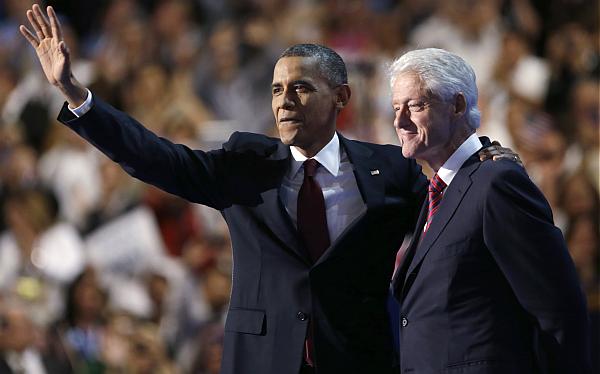 """Bill Clinton: """"Obama construirá una economía para el sueño americano"""""""
