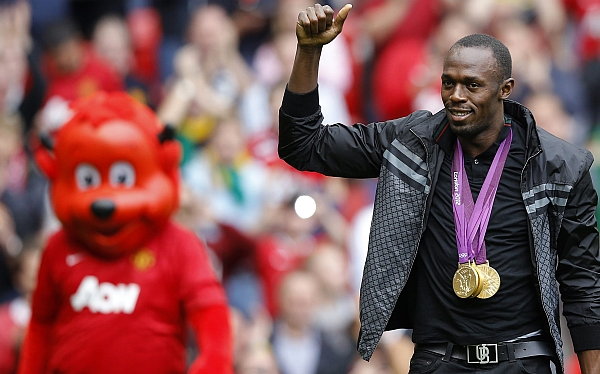 """Usain Bolt: """"Me encantaría jugar un amistoso contra el Real Madrid"""""""