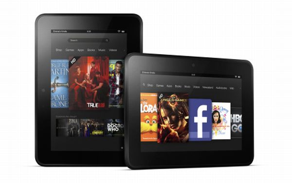 Amazon lanza un Kindle Fire más grande para competir con iPad de Apple