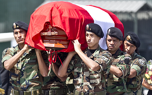 Militar asesinado por terroristas en el Vraem fue ascendido póstumamente