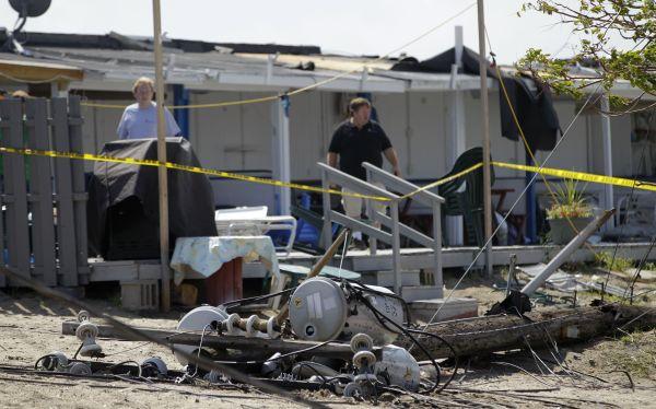 Reportan tornados en Nueva York y Virginia