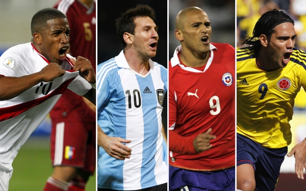 Eliminatorias Brasil 2014: programación de la octava fecha