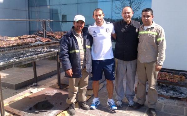 Javier Mascherano mostró su entusiasmo por ser titular ante Perú
