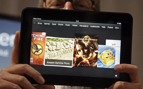 Usuarios de Kindle Fire tendrán que pagar para no ver publicidad en la tablet