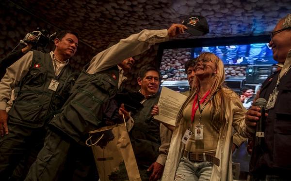 Mistura 2012: Astrid presentó un documental sobre vínculo entre bosques y diversidad culinaria