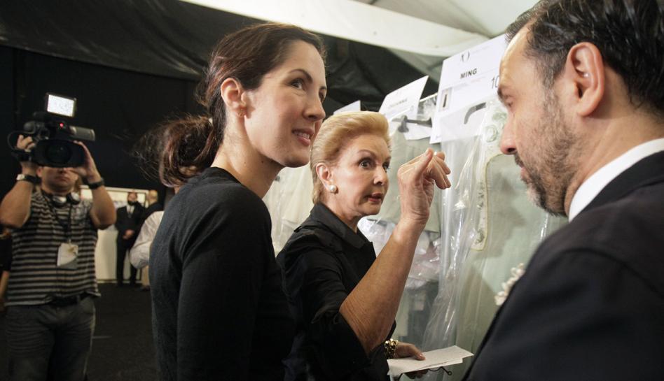 FOTOS: Carolina Herrera lleva coquetería y feminidad a la Semana de la Moda de Nueva York