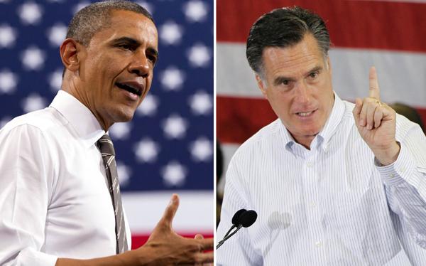 Barack Obama le ganó a Romney en sondeos y recaudación