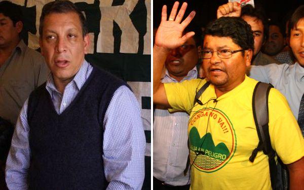 Arana y Saavedra no fueron a citación fiscal por protestas en Cajamarca