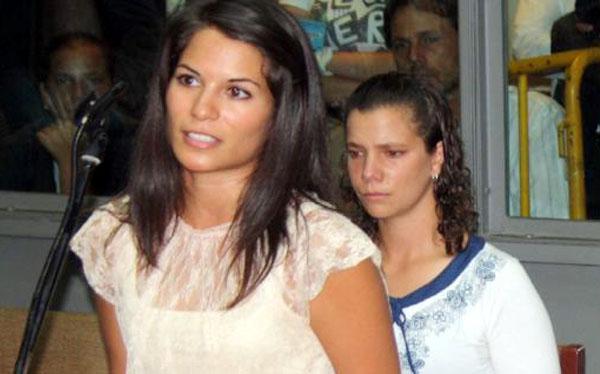 Eva Bracamonte y Liliana Castro salieron del Penal de Mujeres