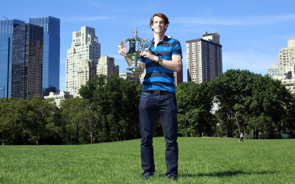 Andy Murray celebró su título del US Open en una Nueva York de luto