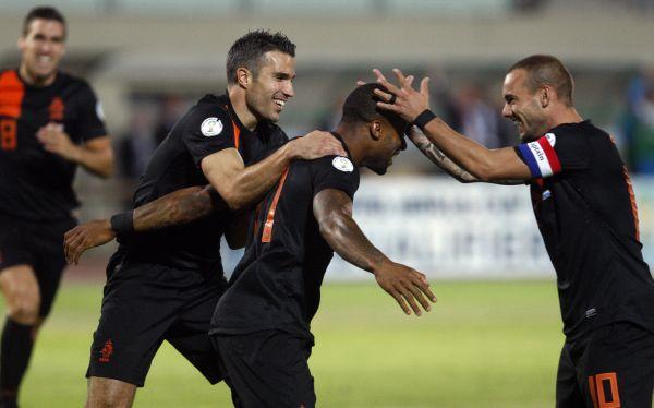 Holanda gusta y golea por 4-1 a Hungría como visitante por Eliminatorias