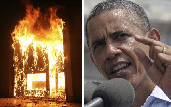 Obama rechaza atentado en Libia y Romney aprovecha para criticarlo