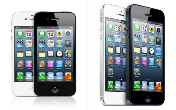 iPhone 4S vs iPhone 5  esta comparaci  243 n no es odiosaIphone 1 Vs Iphone 2