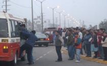 Transportistas que se distanciaron de Villarán convocan a un paro - Noticias de perfecto ramirez