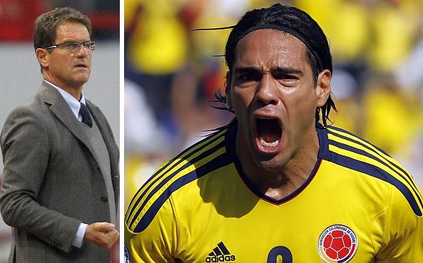 Capello admite que solo Falcao lo impresionó tanto como Lionel Messi