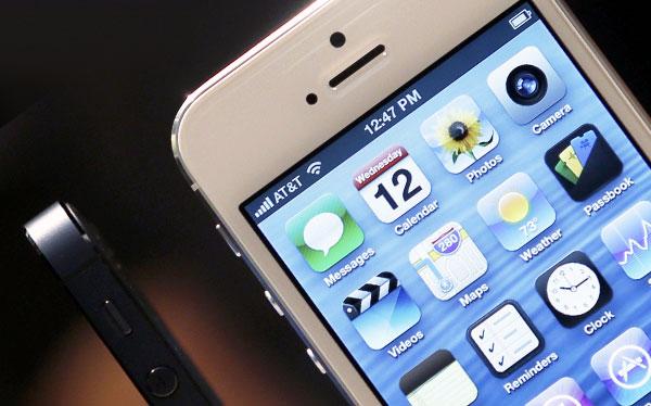 Samsung demandaría a Apple por el iPhone 5