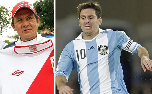Hugo Sotil no duda: Lionel Messi es mejor que Pelé y Maradona