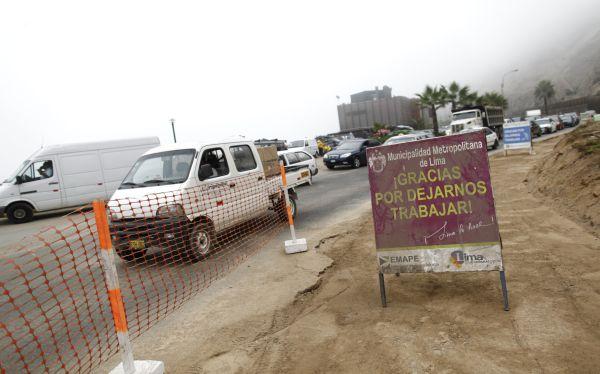 Municipalidad de Lima estima concluir 30 obras viales a fines del 2013