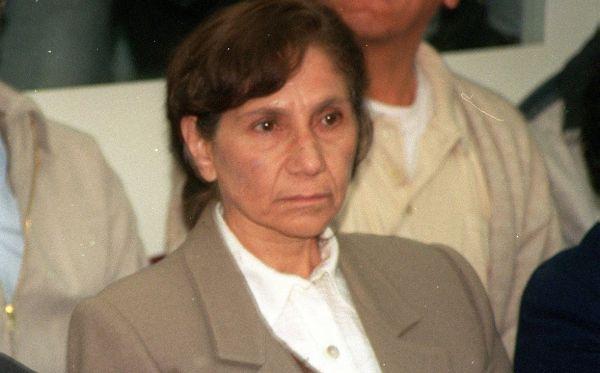 Terrorista Elena Iparraguirre fue trasladada a penal Virgen de Fátima