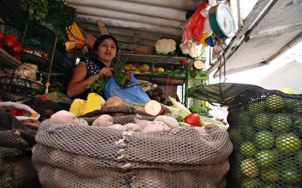 Paro en La Parada genera desabastecimiento en mercado de Lince