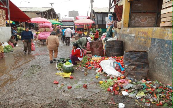La Parada produce 30 toneladas diarias de basura