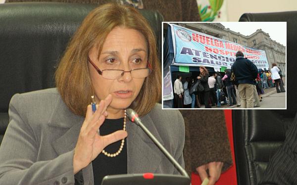 """Ministra de Salud lamentó huelga de médicos: """"Esta decisión no se justifica"""""""