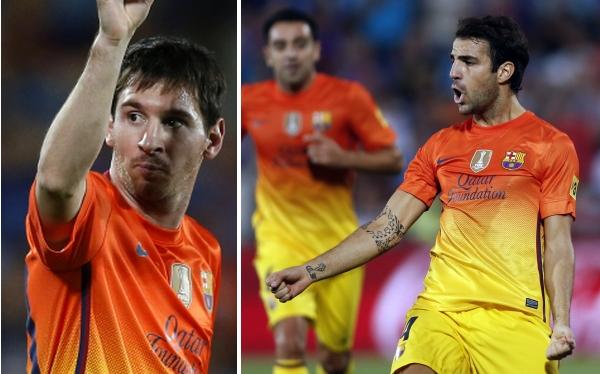 Lionel Messi anotó un doblete en el 4-1 del Barcelona al Getafe