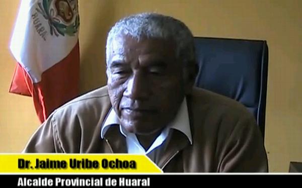 Alcalde de Huaral fue vacado por tener una condena por delito doloso
