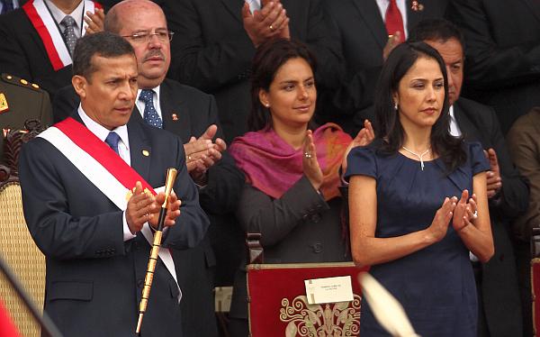 La pareja presidencial encabeza la encuesta del poder en el Perú