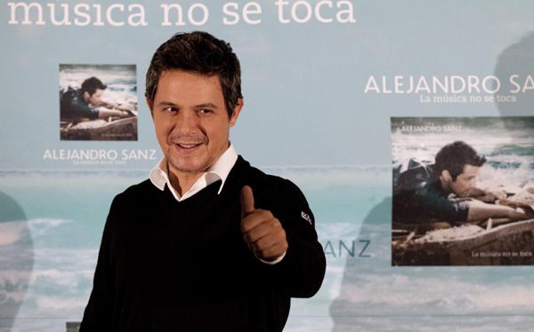 """Alejandro Sanz: """"Mi mayor éxito es quedarme satisfecho con mi trabajo"""""""