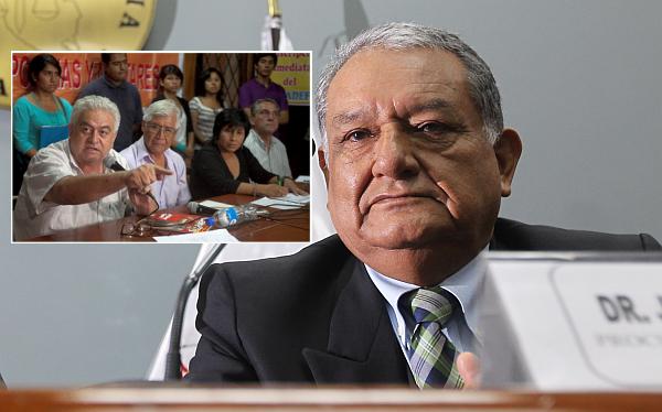 """Procurador Galindo: Movadef """"tuvo facilidades"""" para infiltrarse en universidades"""