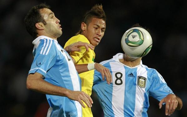 Brasil y Argentina jugarán mañana un Superclásico 'B'