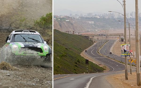 Rally Dakar 2013 se iniciará en el Circuito de Playas Costa Verde
