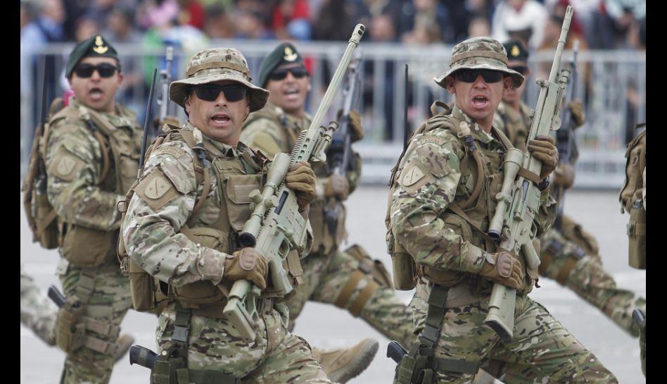 FOTOS: Chile desplegó millonaria compra de armamento en parada militar por fiestas patrias